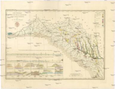 Carte géológique du bassin de la Gallicie et de la Podolie autrichienne
