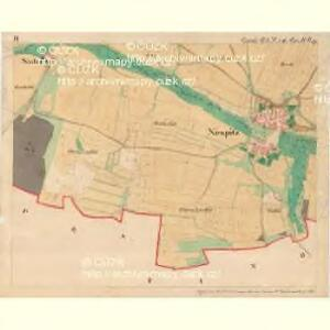 Nespitz - m1752-1-006 - Kaiserpflichtexemplar der Landkarten des stabilen Katasters