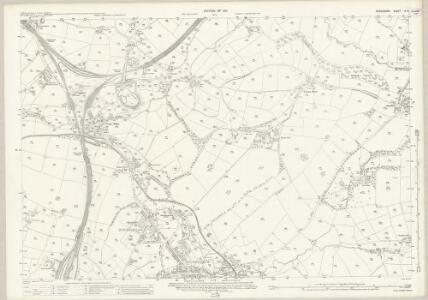 Derbyshire IX.9 (includes: Chapel en le Frith; Chinley Bugsworth and Brownside) - 25 Inch Map