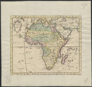 Nieuwe kaart van Africa
