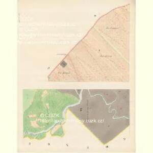 Landshut - m1469-1-001 - Kaiserpflichtexemplar der Landkarten des stabilen Katasters