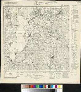 Meßtischblatt 3951 : Niewisch, 1942