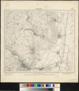 Meßtischblatt 3669 : Gebweiler, 1886