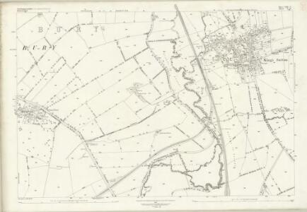 Northamptonshire LXII.6 (includes: East Adderbury; Kings Sutton) - 25 Inch Map