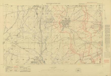 Trench Maps of the Battle Front in France and Belgium,  Villers-Guislan