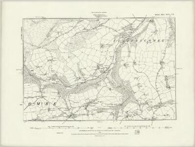 Somerset XLVI.NW - OS Six-Inch Map