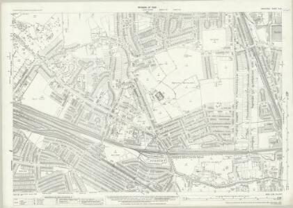 Middlesex X.16 (includes: Ealing St Mary; Wembley) - 25 Inch Map
