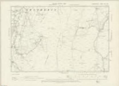 Denbighshire XVII.NW - OS Six-Inch Map