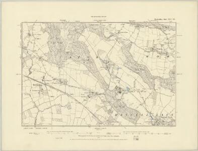 Herefordshire XXV.SW - OS Six-Inch Map