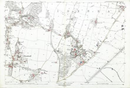 Gloucestershire LIV.7 (includes: Tidenham) - 25 Inch Map