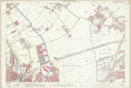 Lancashire XCIX.14 (includes: Bootle Cum Linacre; Litherland; Liverpool; Orrell) - 25 Inch Map
