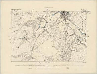 Staffordshire XLIV.NW - OS Six-Inch Map