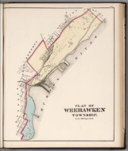 Plan of Weehawken Township.