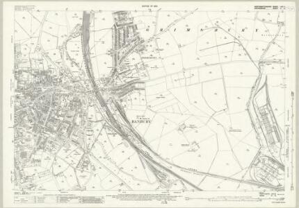 Oxfordshire VI.9 (includes: Banbury; Warkworth) - 25 Inch Map