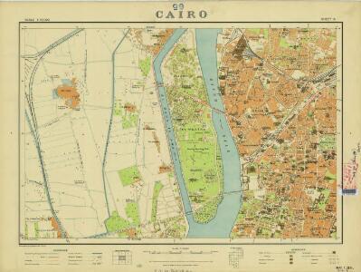 Cairo, 1:10.000 (Sheet 6)