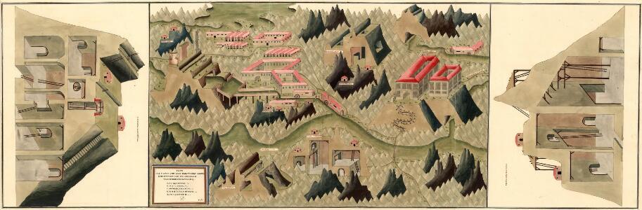 Plan des silber und blei Bergwergs Drul und Mitterdorf, in ober Crain Freiherrn von Rastern