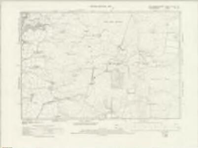 Montgomeryshire XLVIII.SE - OS Six-Inch Map