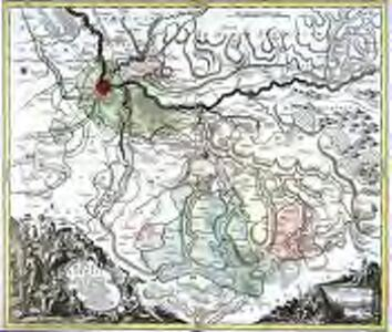 Pagi Basileensis, qui pars est reipublicæ Helvetiorum cum adjacentibus terrarum tractibus nova eaque accurata mappa geographica