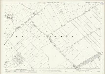 Lincolnshire LXXI.10 (includes: Branston and Mere; Heighington; Washingborough) - 25 Inch Map