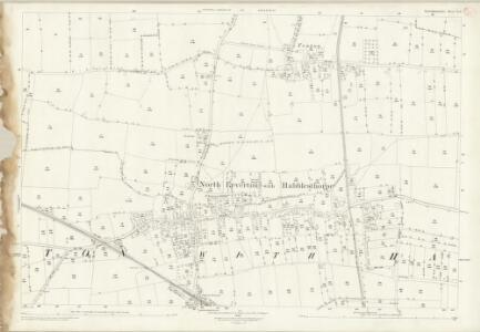 Nottinghamshire X.11 (includes: North Leverton With Habblesthorpe; Sturton Le Steeple) - 25 Inch Map