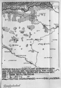 Deutsche und Slowenen in der Untersteiermark nach dem Stande der Volkszählung von 1910