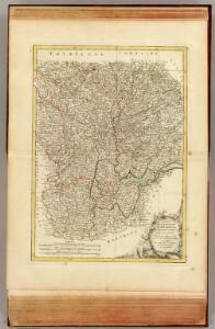 Bourgogne, Franche Comte, Lyonnois.