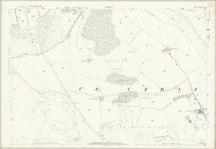 Dorset XXII.13 (includes: Batcombe; Hilfield; Minterne Magna; Sydling St Nicholas; Up Cerne) - 25 Inch Map