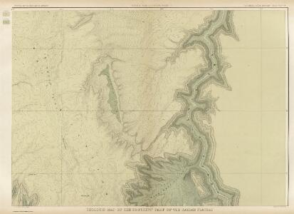 Geologic Map Of The Southern Part Of The Kaibab Plateau. [Part II. North-Eastern Sheet.]
