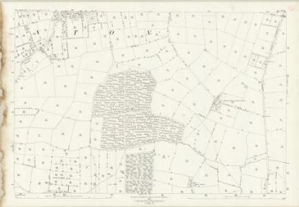 Nottinghamshire XX.13 (includes: Egmanton; Laxton; Weston) - 25 Inch Map