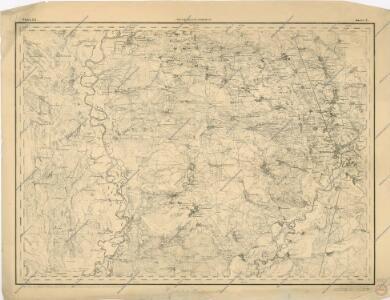 Speciální mapa západního Ruska