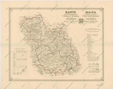 Mapa Okresniho Hejtmanstvi Trutnovskeho