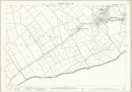 Monmouthshire XXXIV.12 (includes: Goldcliff; Redwick) - 25 Inch Map