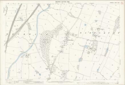 Cheshire XXV.2 (includes: Daresbury; Hatton; Moore; Norton; Preston Brook; Walton) - 25 Inch Map