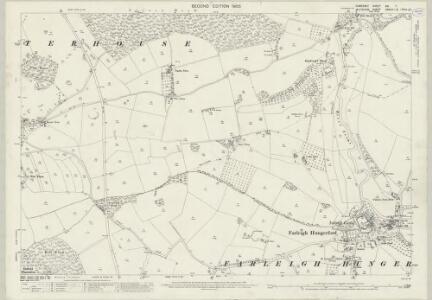 Somerset XXI.7 (includes: Freshford; Hinton Charterhouse; Norton St Philip; Westwood) - 25 Inch Map