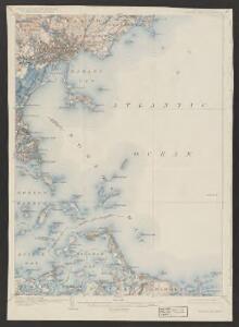 Boston Bay quadrangle, Massachusetts