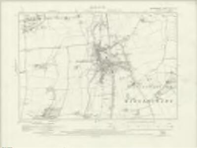 Bedfordshire XVIII.SW - OS Six-Inch Map