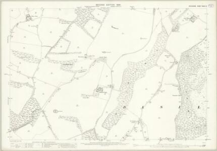 Berkshire XXVIII.6 (includes: Ashampstead; Basildon; Streatley) - 25 Inch Map