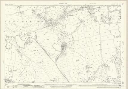 Glamorgan XIV.11 (includes: Gowerton; Llangyfelach) - 25 Inch Map