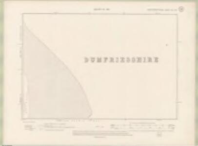 Kirkcudbrightshire Sheet XLV.NE - OS 6 Inch map