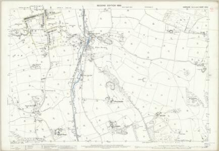Hampshire and Isle of Wight XCV.6 (includes: Newport; South Arreton) - 25 Inch Map