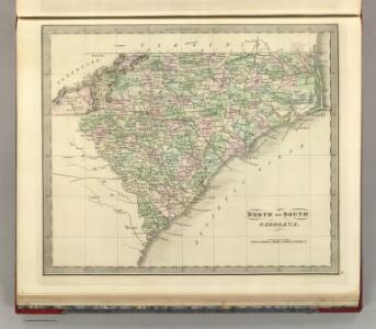 North and South Carolina.