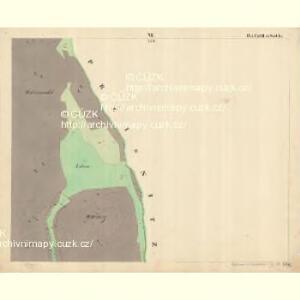 Weichseln - c8980-1-006 - Kaiserpflichtexemplar der Landkarten des stabilen Katasters