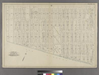 Plate 34: Part of Ward 8. Brooklyn, N.Y.