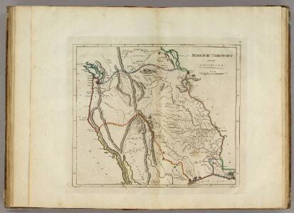 Missouri Territory formerly Louisiana.