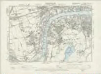 Northumberland XCVIII.NW - OS Six-Inch Map