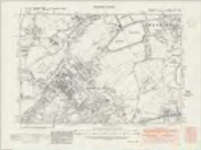 Middlesex XXV.SW - OS Six-Inch Map