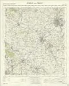 Burton upon Trent - OS One-Inch Map