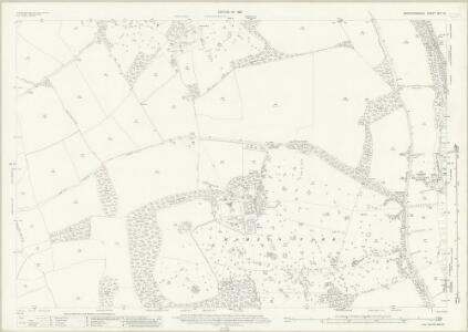 Hertfordshire XIV.13 (includes: Braughing; Great Munden; Standon; Westmill) - 25 Inch Map
