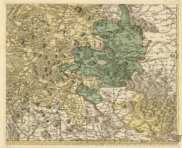 Landgraviatus Hassiae Inferioris Comitatvs Waldeciae Eichsfeldiae Tabvla Geographica