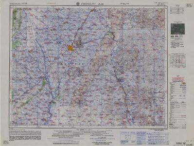 China 1:250 000, Cheng-Tu